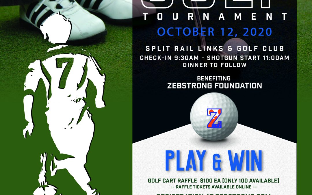 5th Annual ZEBSTRONG Memorial Golf Tournament